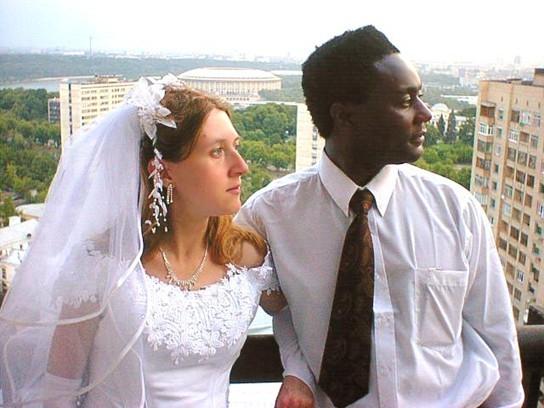 свадебные клипы с негром и белой девушкой часть