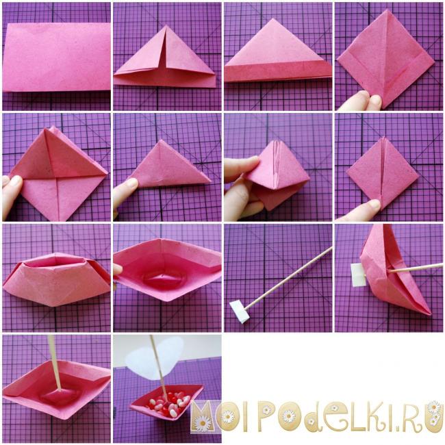 Подарок маме просто так своими руками оригами 63