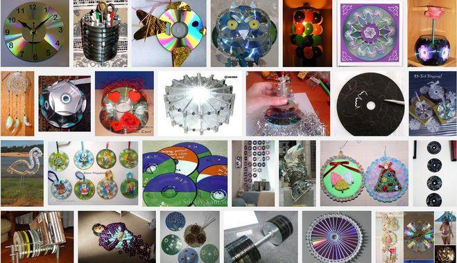 Поделки из сиди дисков своими 678