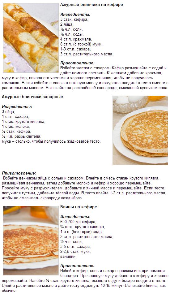 тесто для блинов рецепт простой рецепт