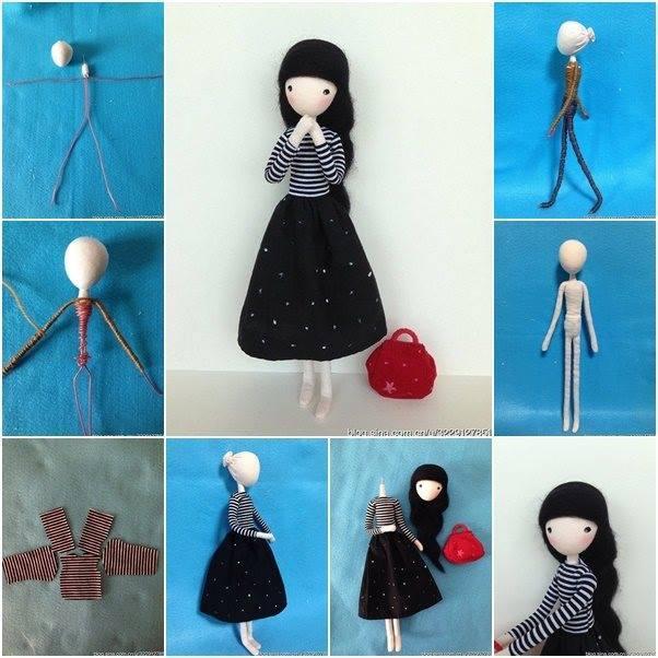 Как сделать куклу своими руками в домашних