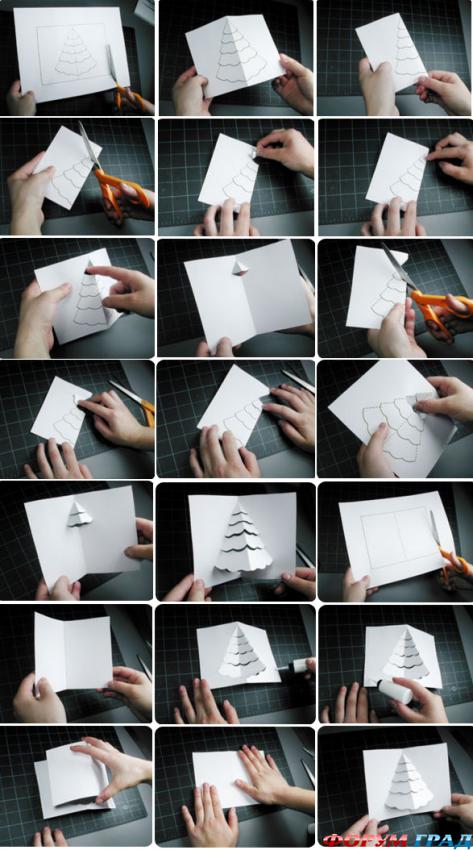 Сделать красивую открытку своими руками на день рождения маме 140