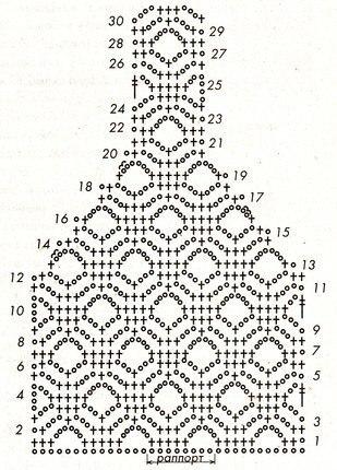 Вязание крючком майки схемы и описание 14