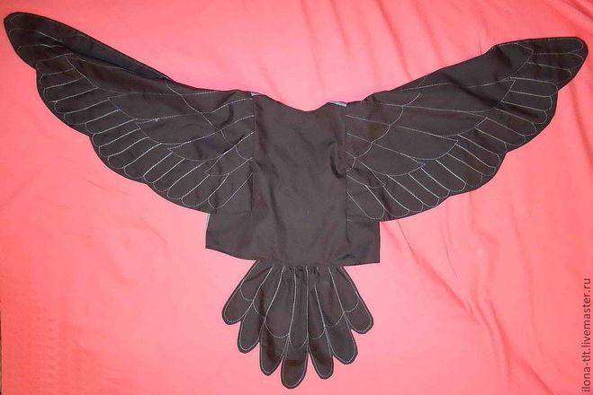 Костюм своими руками ворона