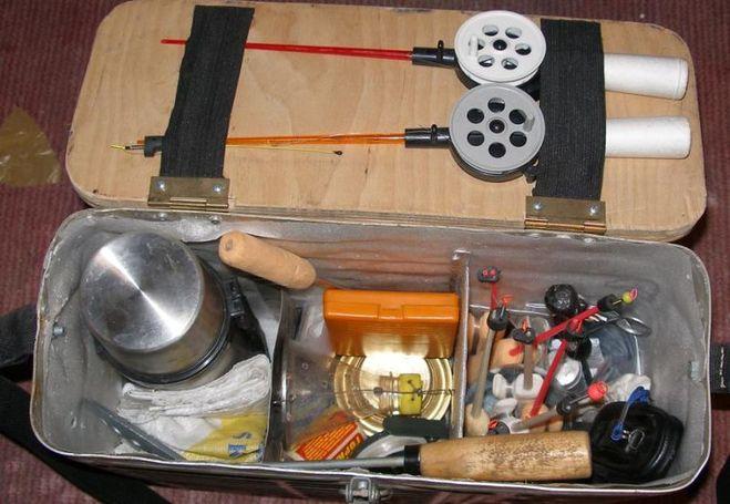 Как сделать пенопластовый ящик для зимней рыбалки своими
