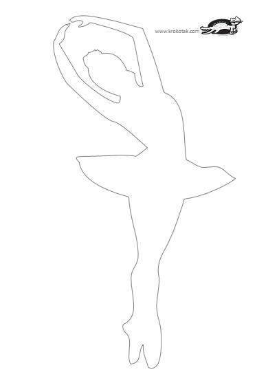 Поделки балерина снежинка 19