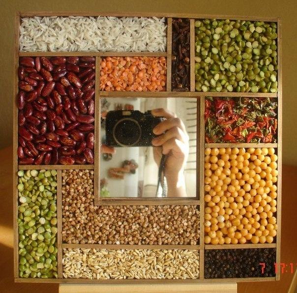 Рамки для фото на кухню своими руками 136
