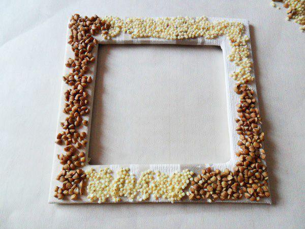 Рамка для фото своими руками поделка