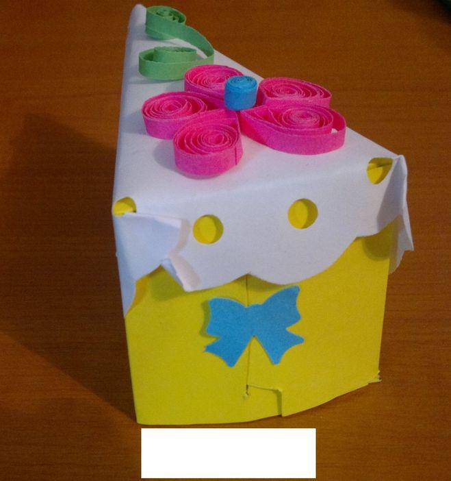 Торт из бумаги на день рождения своими руками 66