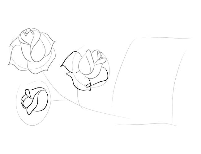 Как нарисовать март поэтапно карандашом
