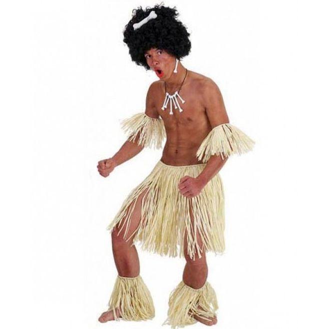 Как сделать костюм для папуаса