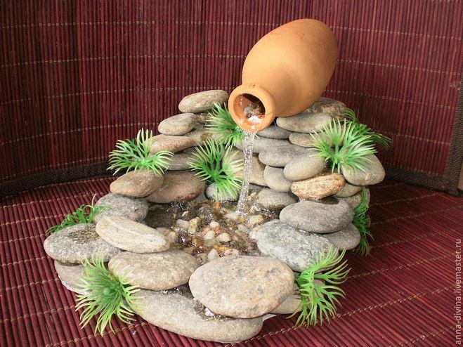 Як зробити міні водоспад для дому своїми руками?