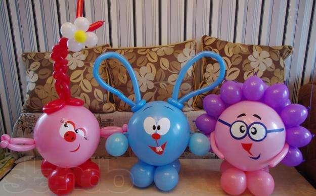Изделия из воздушных шаров своими руками