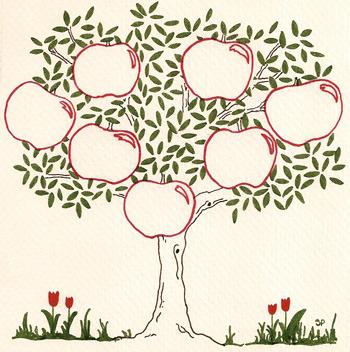 Генеалогическое дерево своими руками нарисовать