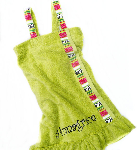 Полотенце на резинке для бани своими руками 39