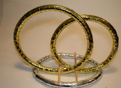 Как украсить кольца своими руками