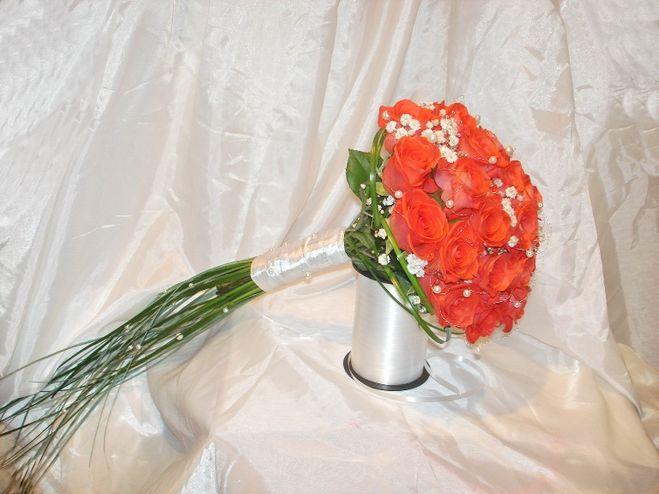 Букет с розами своими руками