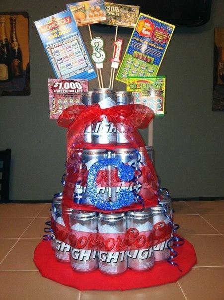 Торт для мужчины из банок пива своими руками 853