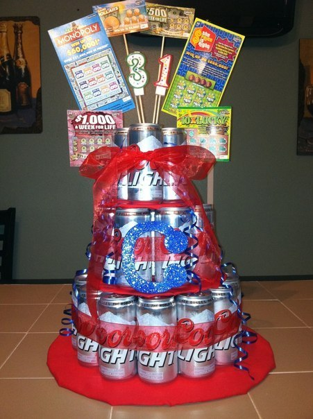 Фото торт из банок пива своими руками фото 246