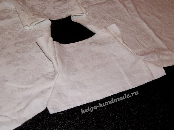 Як зшити хрестильне плаття для дівчинки своїми руками  31b104164e27b