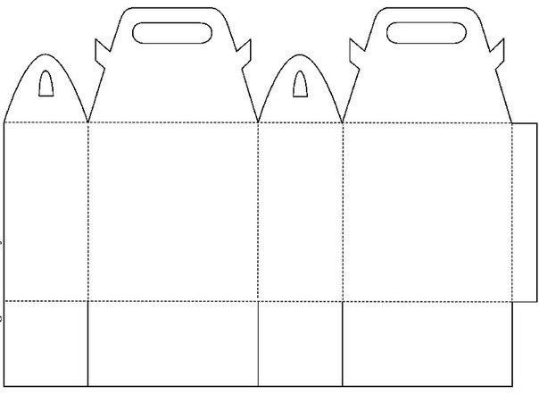 Как сделать подарочную сумочку из бумаги своими руками 30