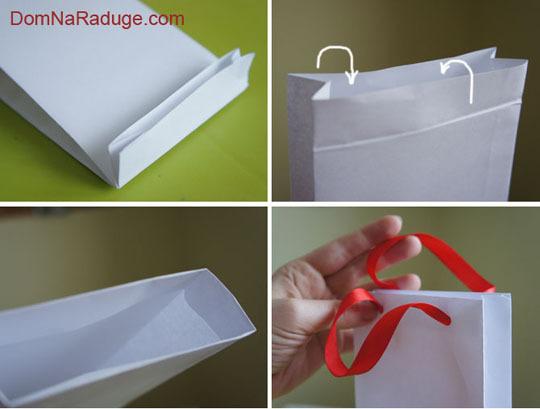 Как из листа бумаги сделать пакет