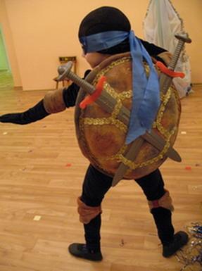 Костюм черепашка ниндзя своими руками фото