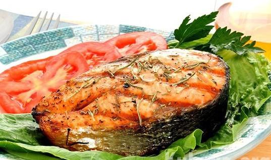 стейк лосося в духовке рецепт с фото