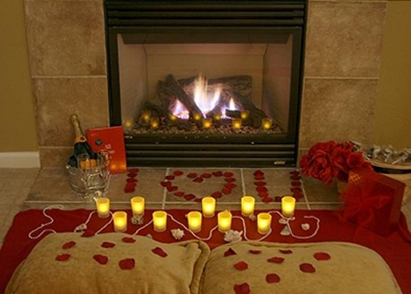 Как сделать романтику в доме