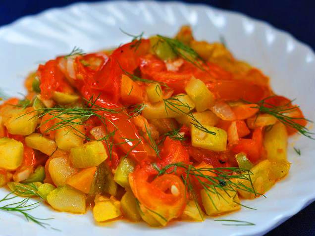 Рецепты рагу овощное
