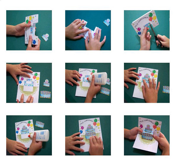 Как делают открытки на день рождение папе