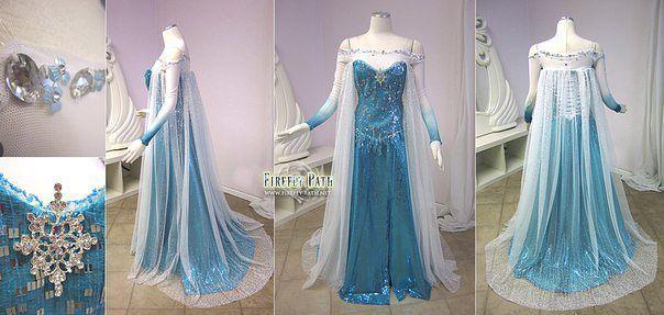 Купить Платье Холодное Сердце Эльза