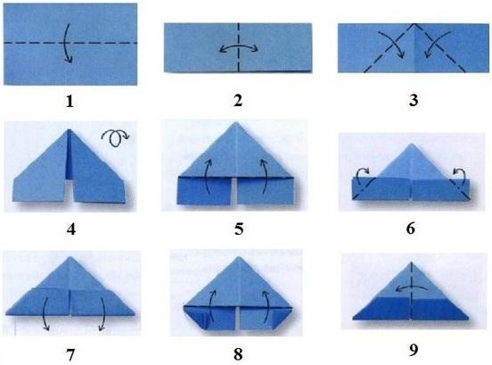 Схемы оригами по модулям