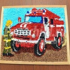 Открытка ко дню пожарного своими руками 16