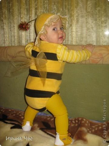 Новогодний костюм пчеленок своими руками
