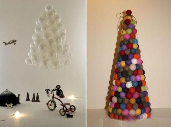 Креативные поделки на елку
