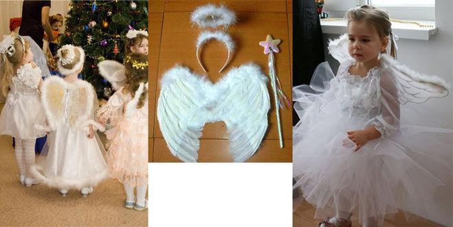 Как сделать костюм ангела на новый год