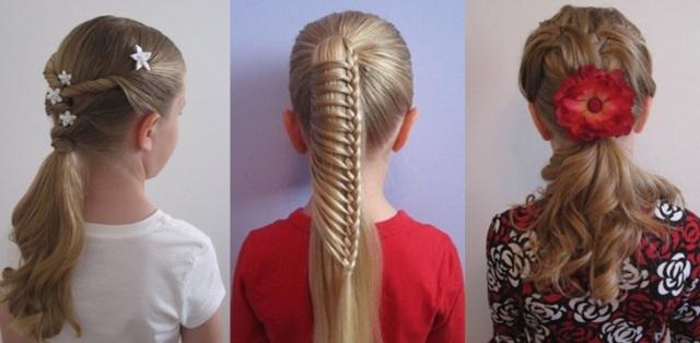 Прически на первое сентября 5 класс на средние волосы фото