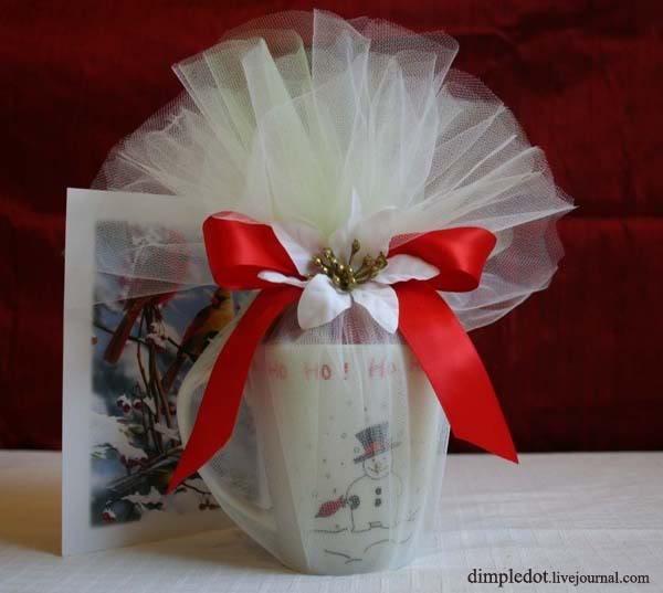 Упаковка кружки в подарок 92