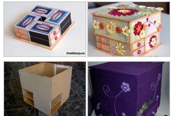 Как из коробки сделать красивую 671