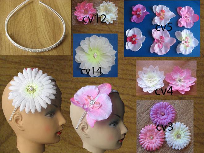 Цветы для головы сделать своими руками