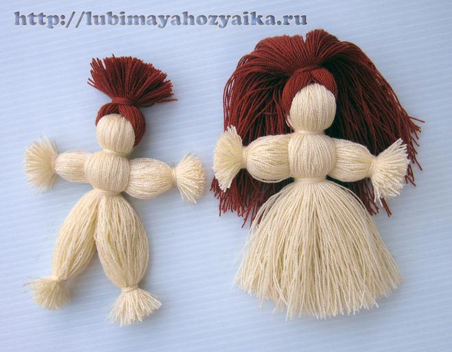 кукла мотанка из ниток своими руками пошагово