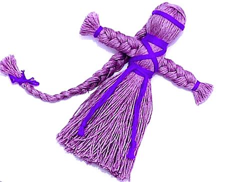 Как делать куклы обереги своими руками из ниток 63