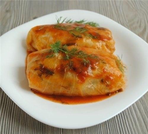 Рецепты голубцов с мясом и рисом рецепт