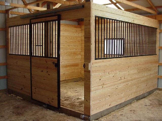 Денники для лошадей своими руками 674