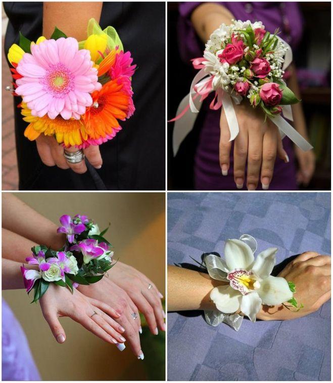 Что сделать на руку подружкам невесты своими руками 57