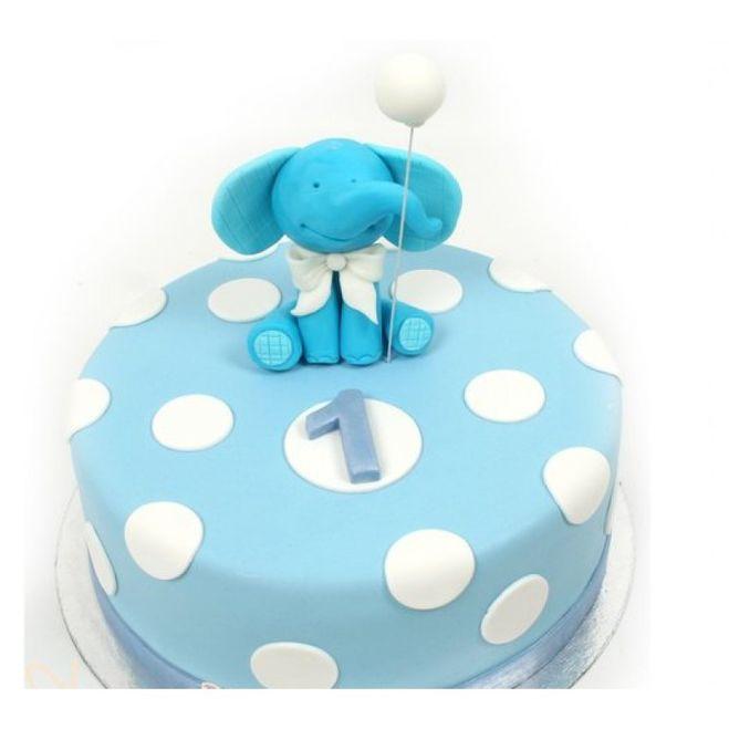 Детский торт для мальчика на 1 год своими руками 80