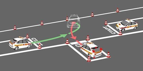 Видео вождение на механике площадка