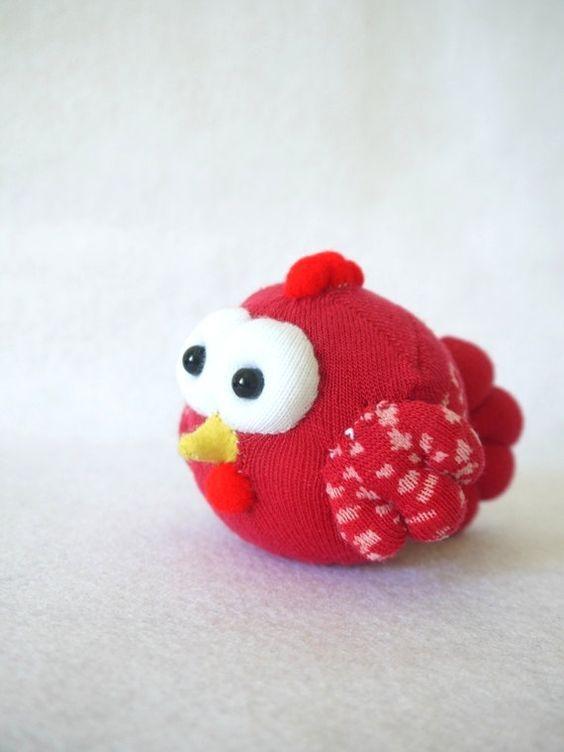 Цыпленок из носка