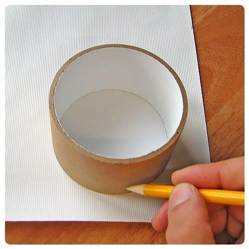 Как сделать круглую коробочку для цветов своими руками 63